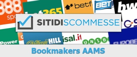 Siti di scommesse e bookmakers AAMS (ADM)