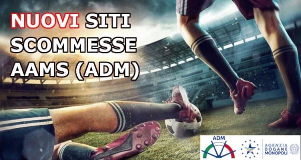 Siti scommesse AAMS (ADM)